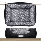 Milk and Pepper Tropical Square Sofa Black
