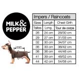 Milk & Pepper Regenjacke Red